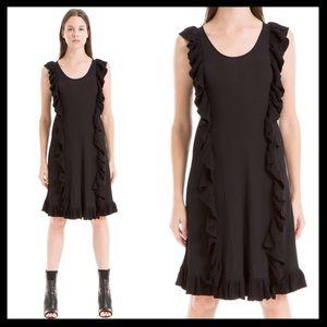 max studio // ruffle sleeveless sweater dress NWT